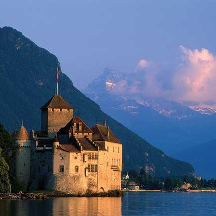 Switzerland Majestic Montreux Chillon Castle Montreux MAIN